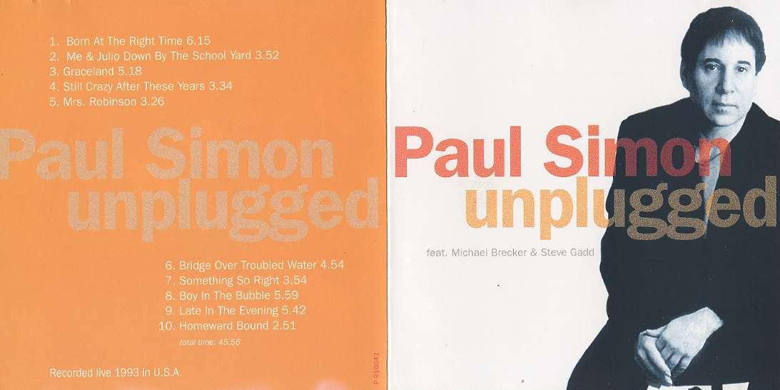 paul simon live us mtv unplugged